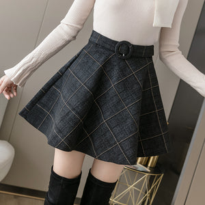 Autumn Preppy Skort