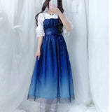 Blue Galaxy Dress