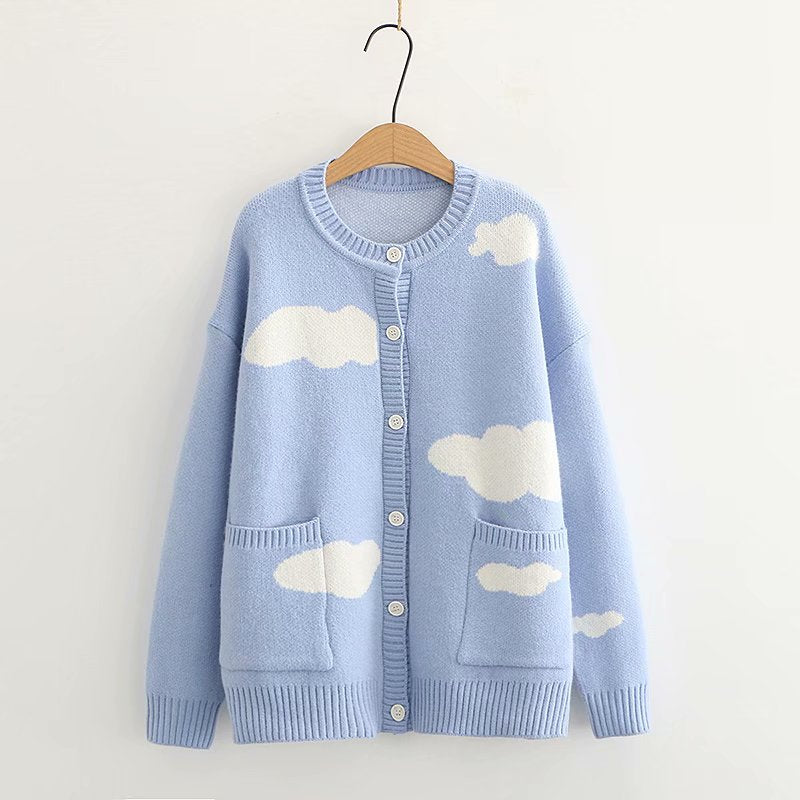 Cloud Knitted Cardigan pic