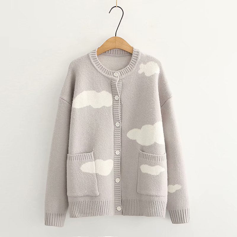 Cloud Knitted Cardigan