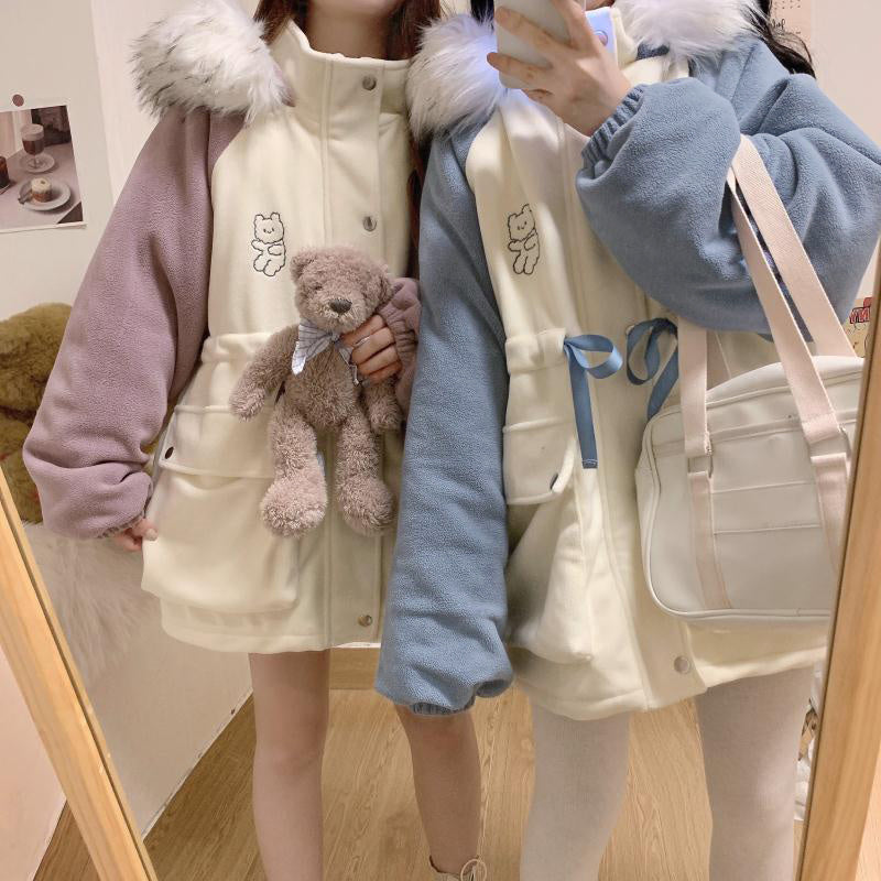 Cute Bear Cozy Coat