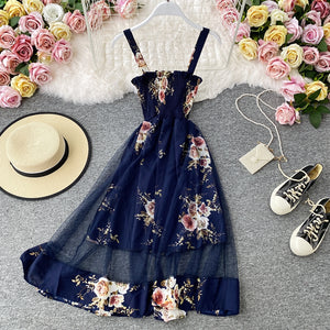 Floral Strappy Dress pic