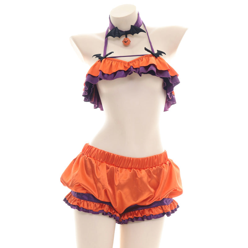 Halloween Pumpkin Lingerie Outfits pic