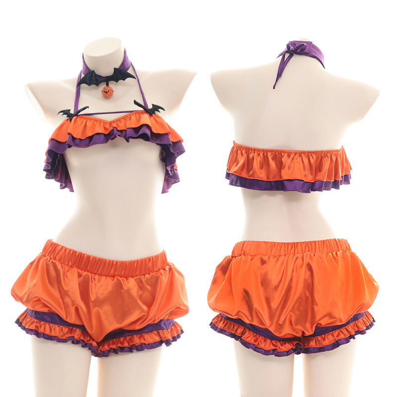 Halloween  Pumpkin Lingerie Outfits
