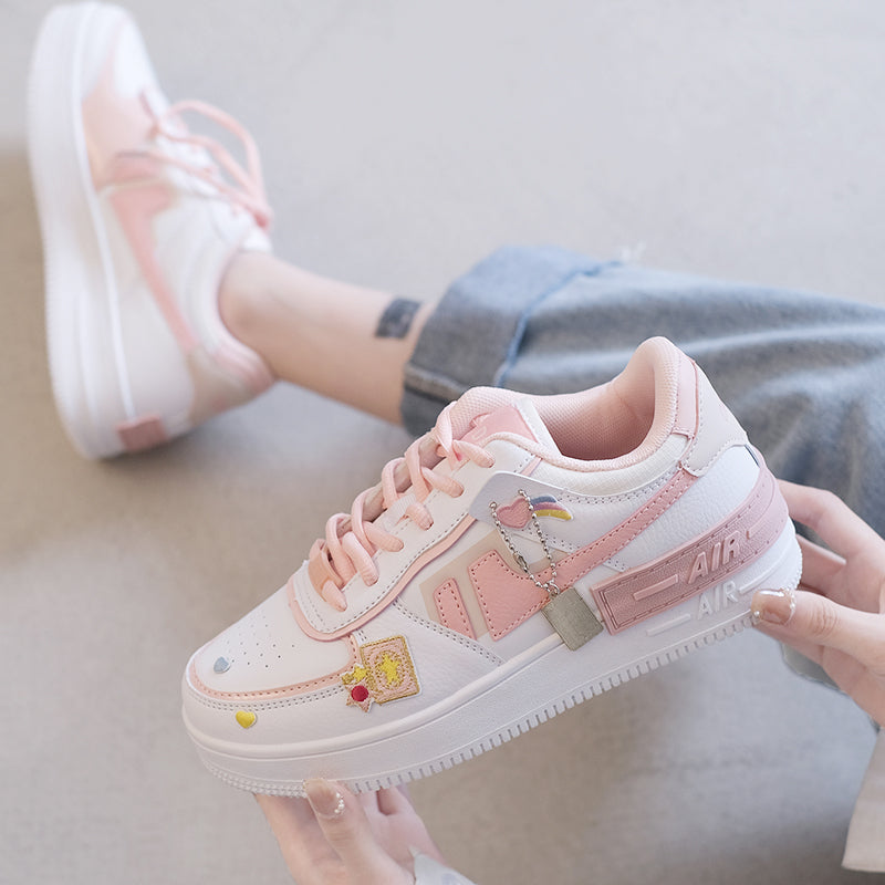 Kawaii Macarons Shoes pic