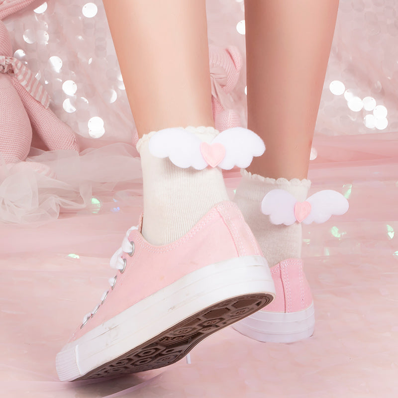 Kawaii Wing Socks