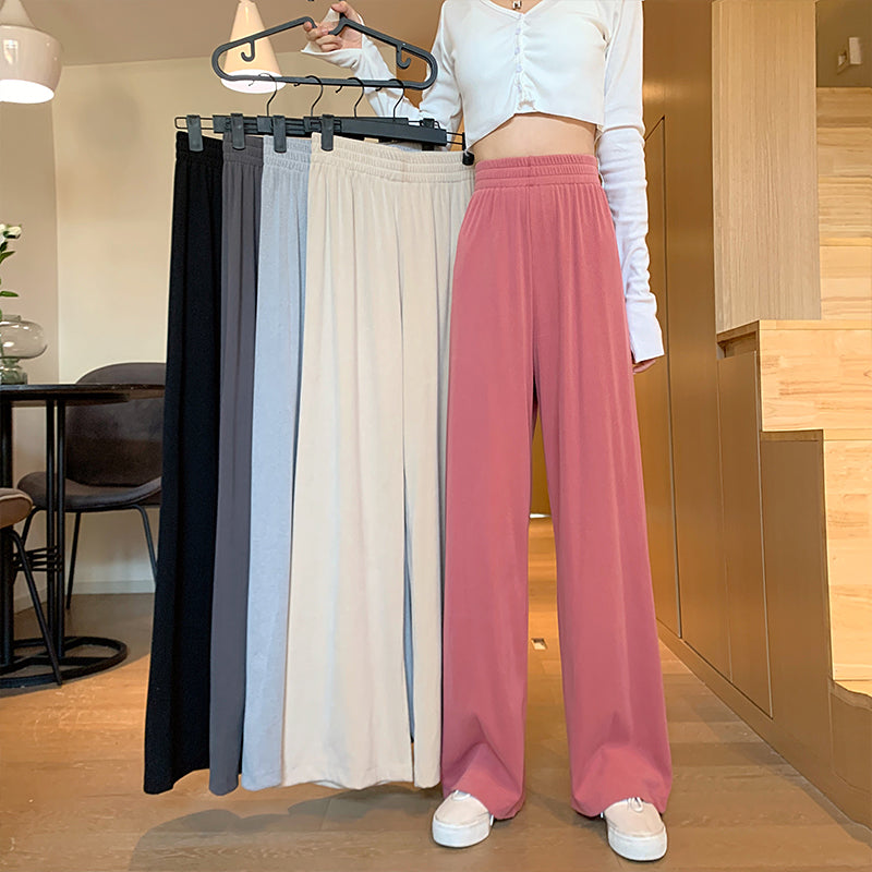Kfashion Ulzzang Soft Trousers pic