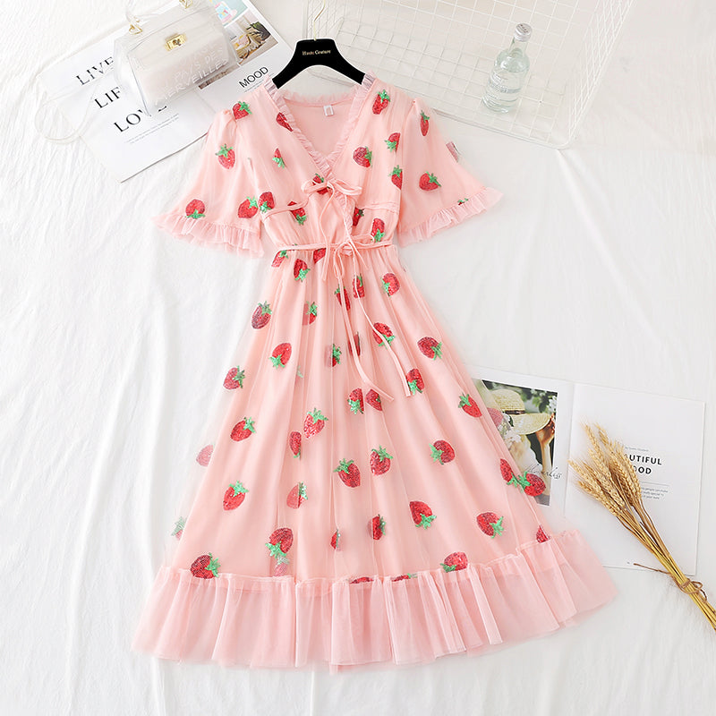 Lovely Strawberry Dress pic