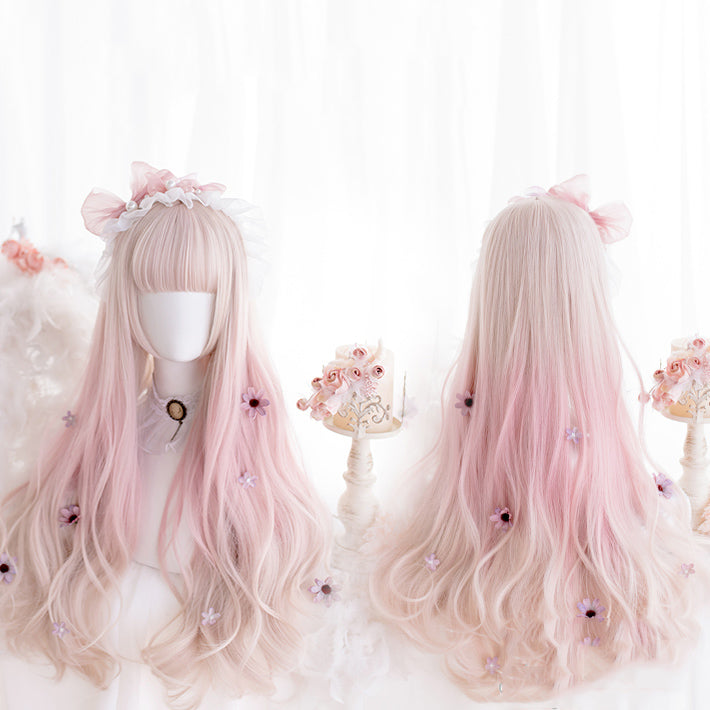 Pastel Lolita Hime Curly Wig pic