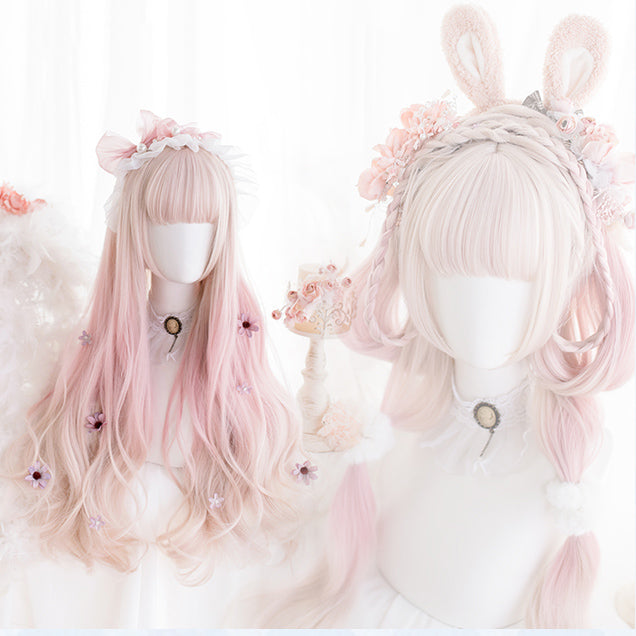 Pastel Lolita Hime Curly Wig