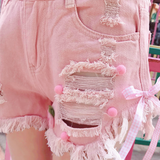 Pink Candy Shorts