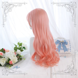 Peach Hime Curly Wig