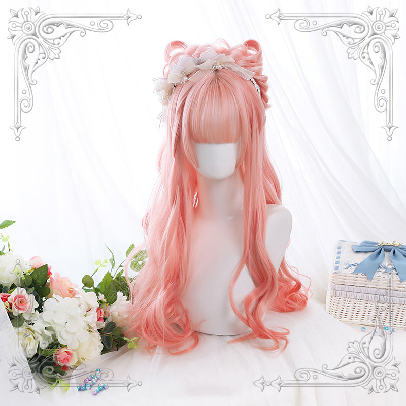 Peach Hime Curly Wig pic
