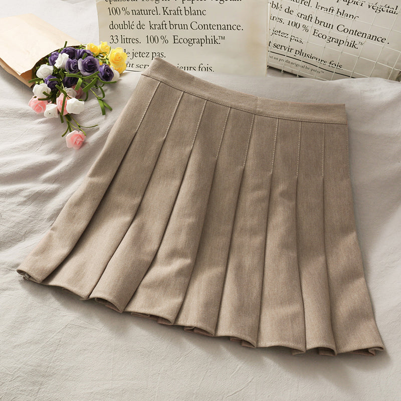 Preppy Pleated Skirt