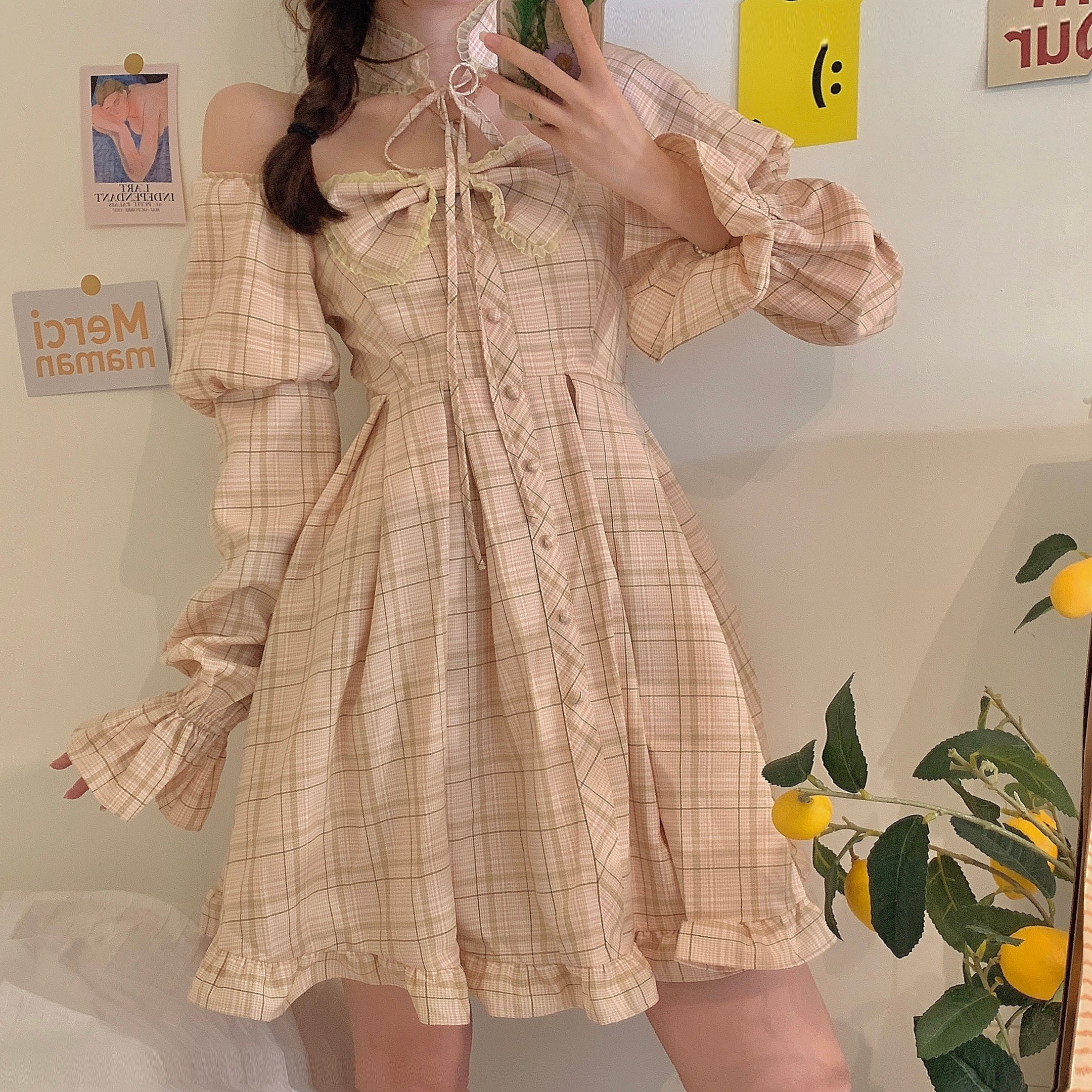 Retro Bowknot Lolita Dress pic