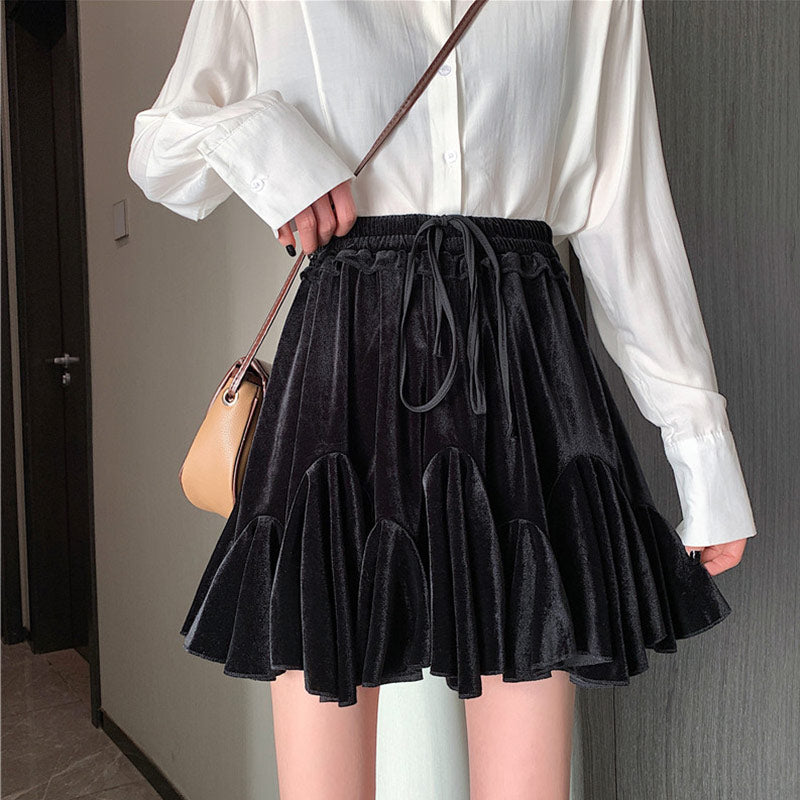 Ruffled Tutu Skirt