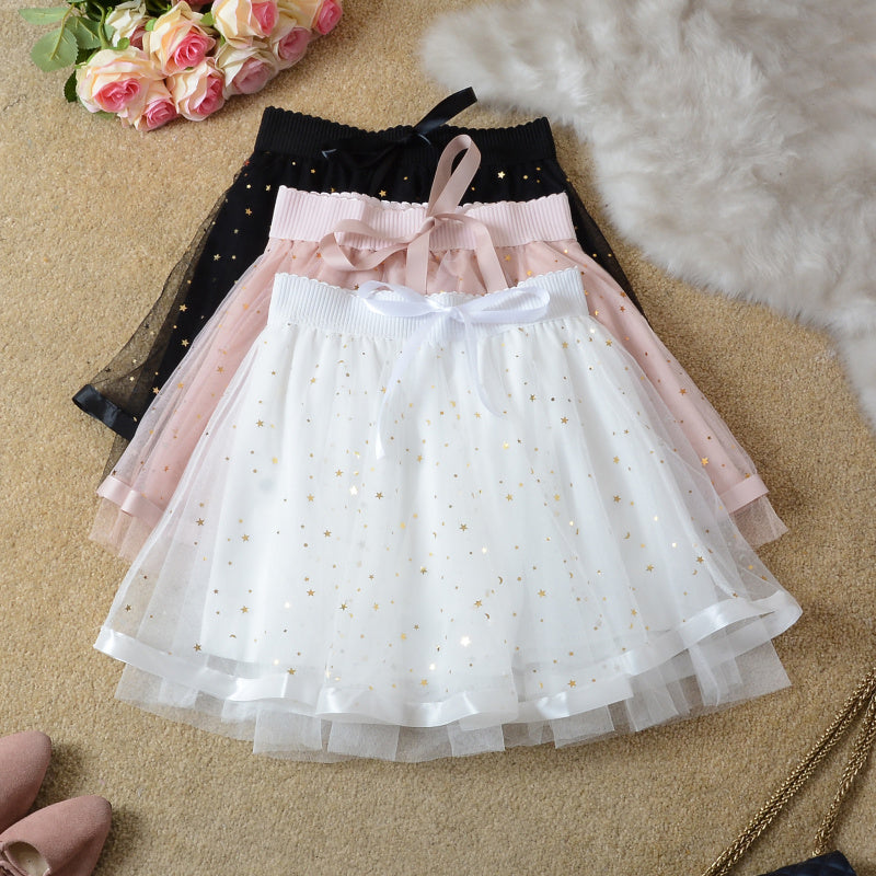 Starry Gauze Tutu Skirt pic