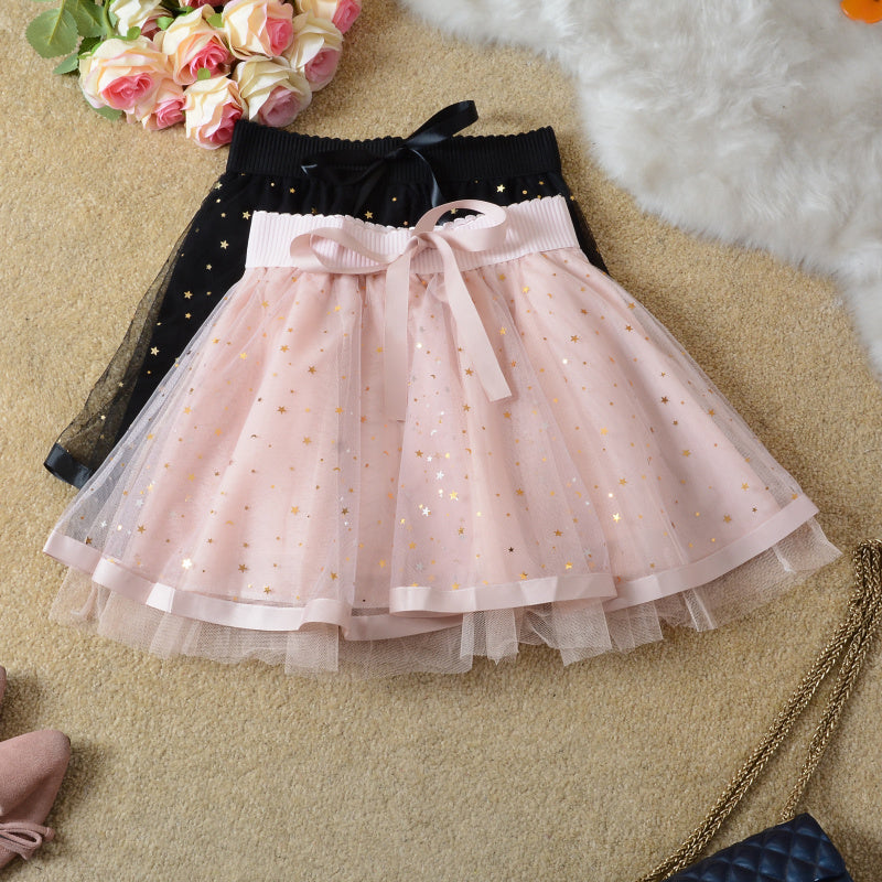 Starry Gauze Tutu Skirt