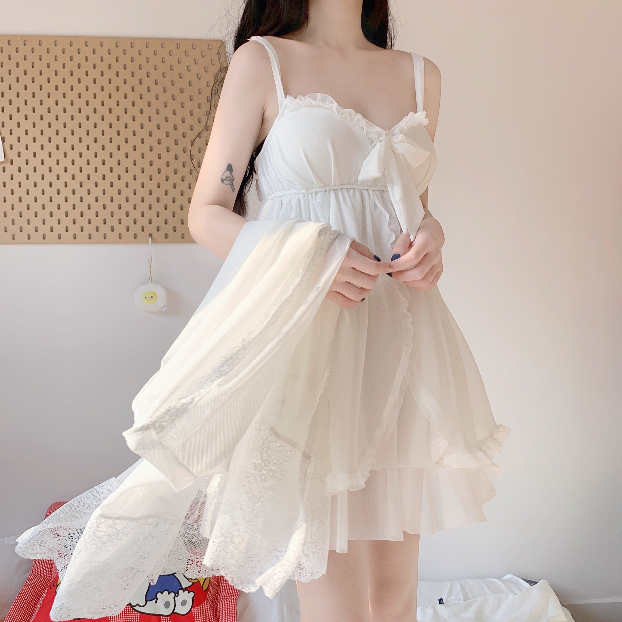 Summer Chiffon Sleepwear Dress