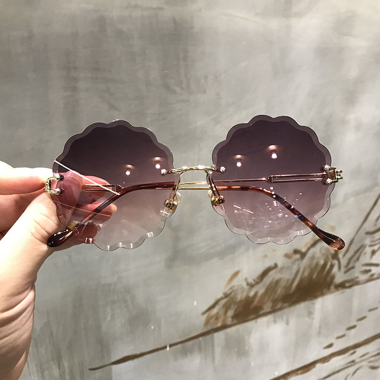 Sunflower Wave Glasses
