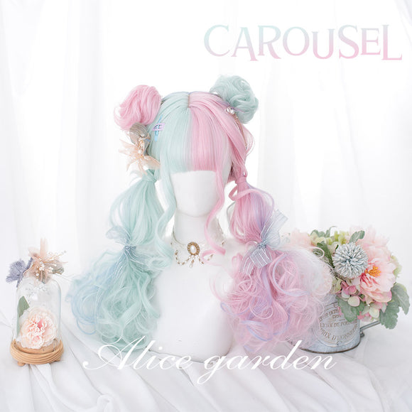 Carrousel Ice-cream Wig