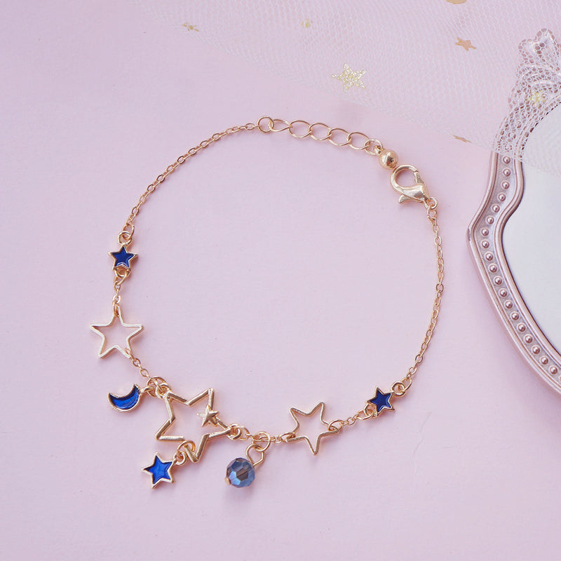 Dreamy Star Moon Hand Chain