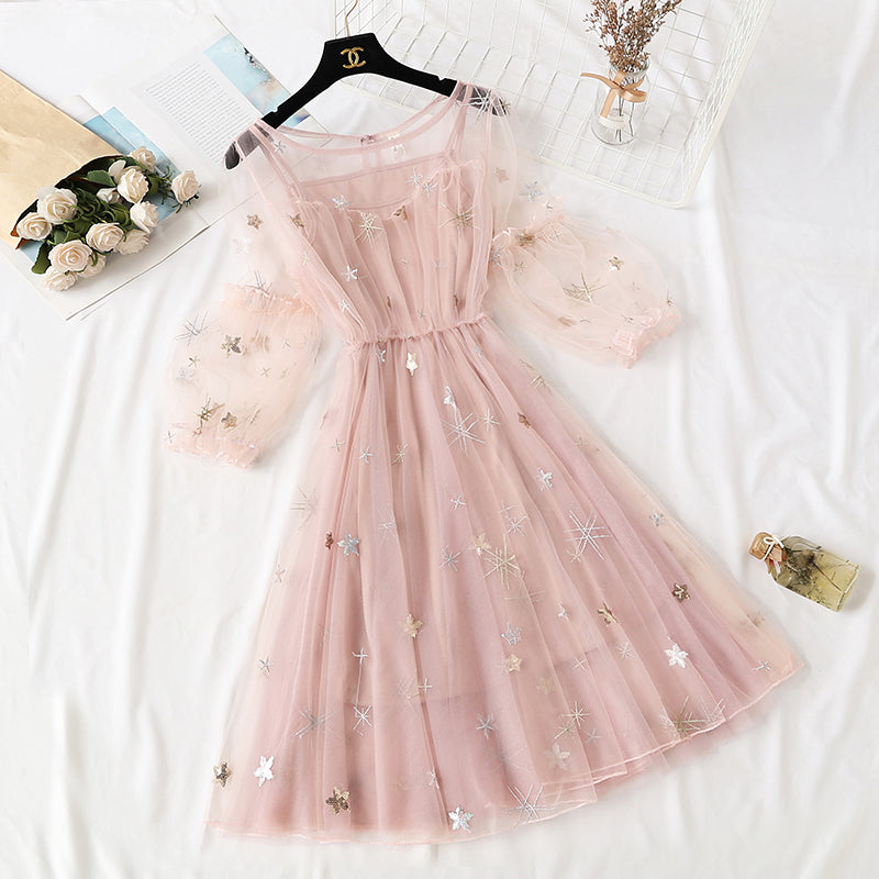 Fairy Gauze Two-Piece Dresses