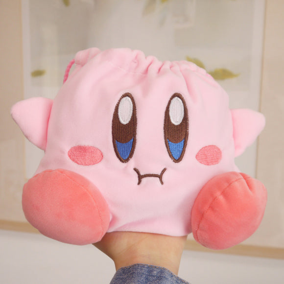 Kawaii Kirby Makeup Mini Bag