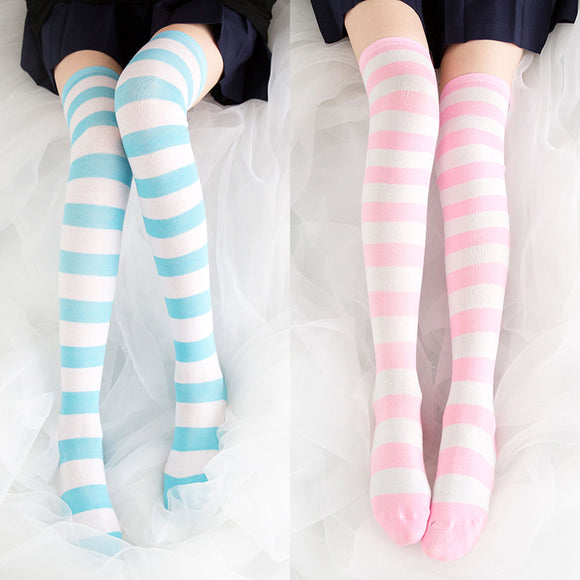 Stripe Thigh-Highs