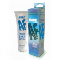 Hard AF - Male Erection Cream - 44 ml (1.5oz) Tube