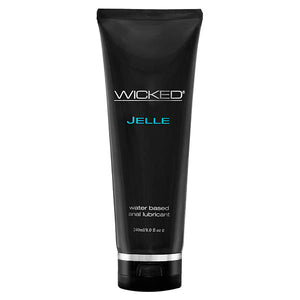 Wicked Jelle - Water Based Anal Lubricant - 240 ml (8 oz) Bottle