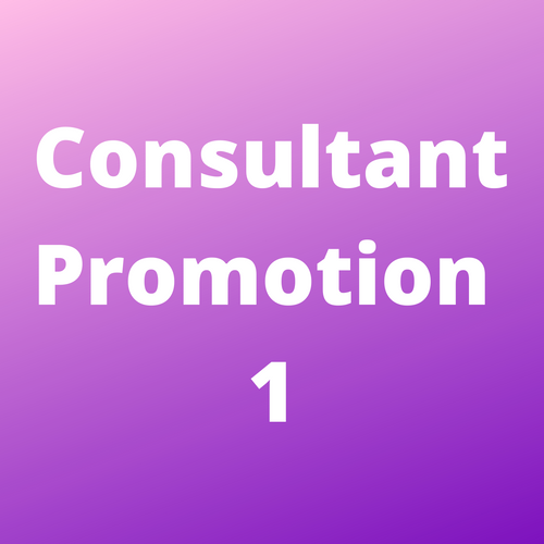 Consultant Promotion 1