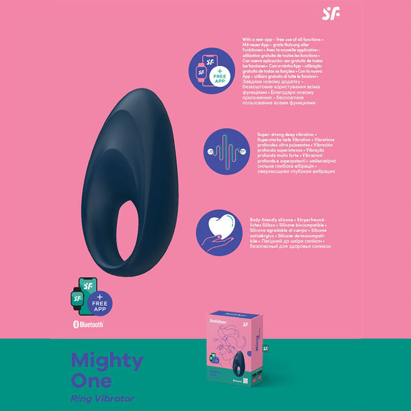 Satisfyer Mighty One - App Controlled Vibrating Cock Ring