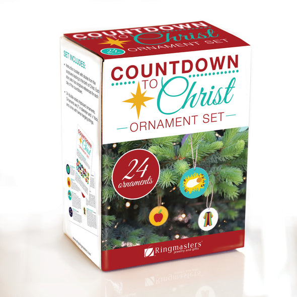 Countdown to Christ Ornament Set