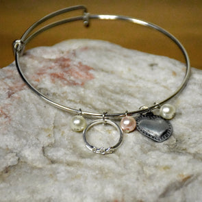 Chin Up Bangle Bracelet