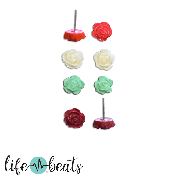 Bloom Rosebud Earrings