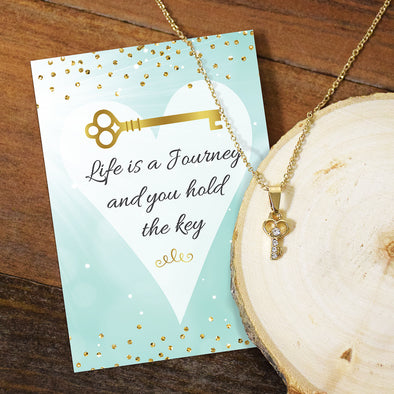 Life is a Journey Necklace