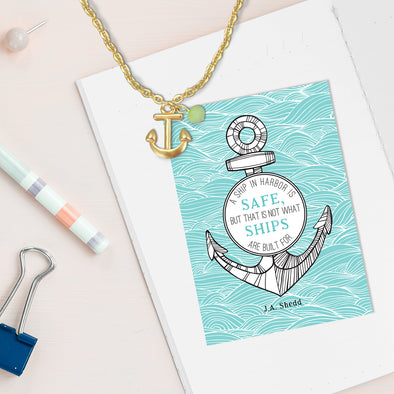 Safe in Harbor Necklace