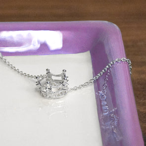 Sparkle Crown Necklace