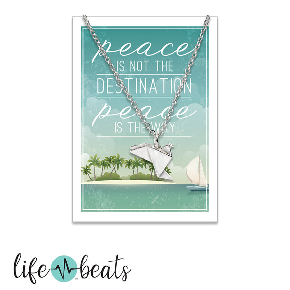 Peace Dove Necklace