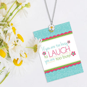 Laugh Daisy Necklace