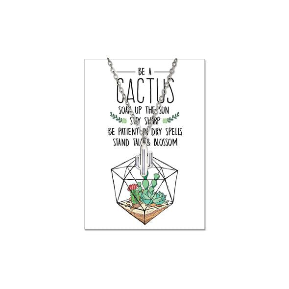 Cactus Necklace (Gold or Silver)