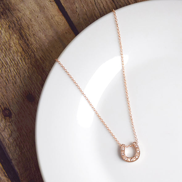 Make Your Own Luck Necklace (Rose Gold or Silver)