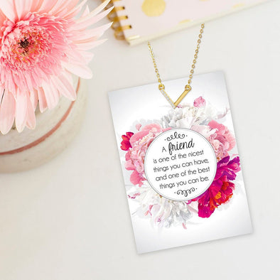 Friendship V Necklace