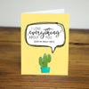 Prickly Parts Cactus Pin