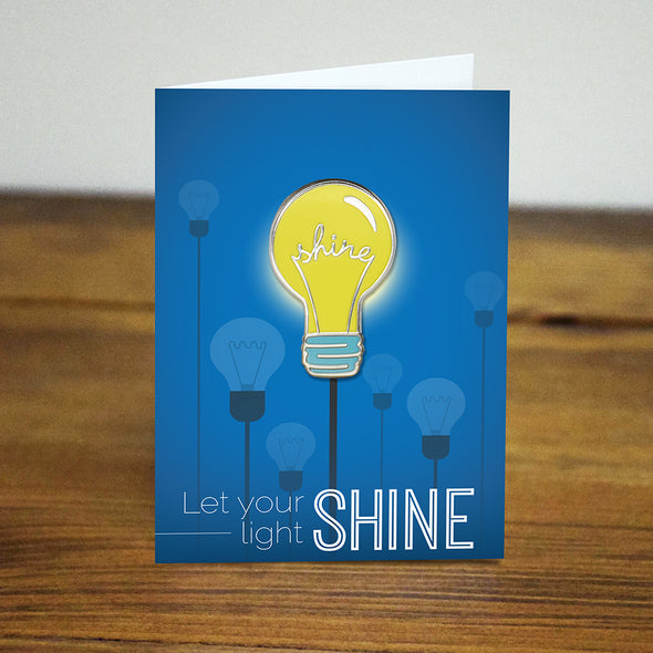 Shine Light-bulb Pin
