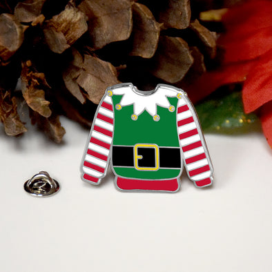 Ugly Sweater Enamel Pin