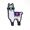 Llama Iron-on Patch
