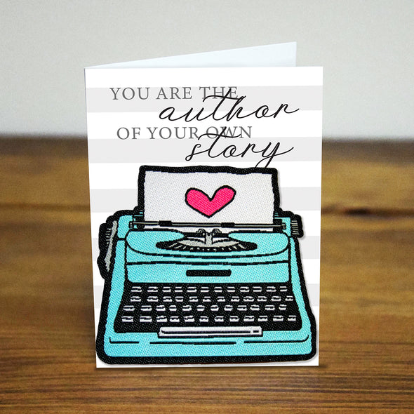 Your the author of your own story Iron-on Patch