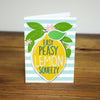 Easy Peasy Lemon Iron-on Patch